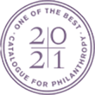 Catalogue for Philanthropy logo.